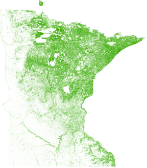 Spatialcover Tree Canopy Minnesota Overview